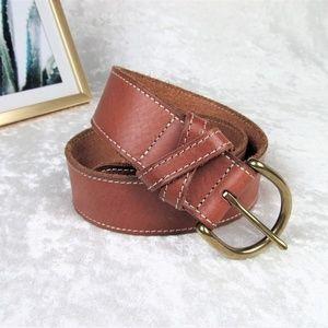 XS Genuine leather belt